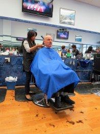 fryzjerka, strzyżenie