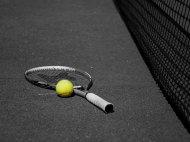 rakieta i piłka do tenisa